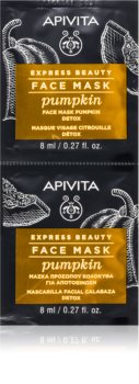Apivita Express Beauty Pumpkin Detoxifying Skin Mask