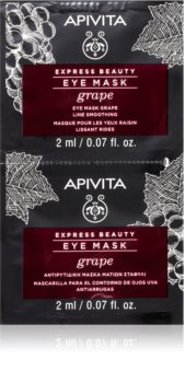 Apivita Express Beauty Grape Eye Mask with Smoothing Effect