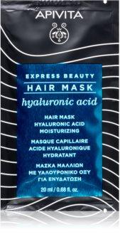 Apivita Express Beauty Hyaluronic Acid mascarilla hidratante para cabello