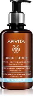 Apivita Tonic Lotion Soothing and Moisturizing Toner łagodzący tonik do twarzy o działaniu nawilżającym