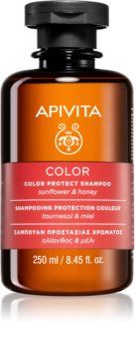 Apivita Holistic Hair Care Sunflower & Honey šampon za zaščito barvanih las