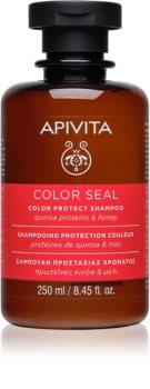 Apivita Holistic Hair Care Sunflower & Honey shampoo voor de bescherming van gekleurd haar