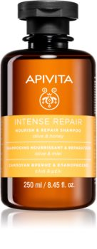 Apivita Holistic Hair Care Olive & Honey Intensiivinen Ravitseva Hiustenpesuaine