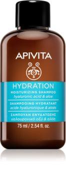 Apivita Holistic Hair Care Hyaluronic Acid & Aloe hydratisierendes Shampoo für alle Haartypen