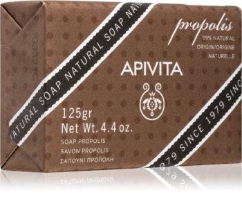 Apivita Natural Soap Propolis почистващ твърд сапун