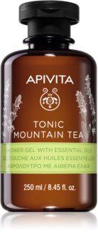 Apivita Tonic Mountain Tea gel de banho tonificante