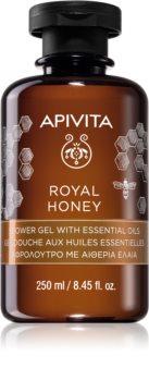 Apivita Royal Honey feuchtigkeitsspendendes Duschgel mit ätherischen Öl
