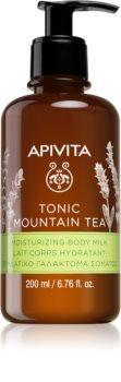 Apivita Tonic Mountain Tea lait corporel hydratant