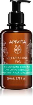 Apivita Refreshing Fig hydratační tělové mléko