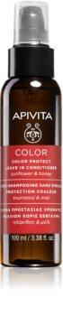 Apivita Color Sunflower & Honey feuchtigkeitsspendender Conditioner zum Schutz der Farbe