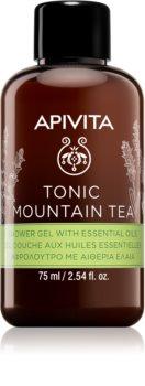 Apivita Tonic Mountain Tea tönendes Duschgel