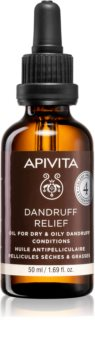 Apivita Holistic Hair Care Celery & Propolis Treatment For The Scalp To Treat Oily Dandruff