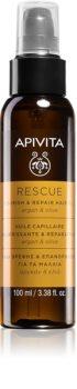 Apivita Holistic Hair Care Argan Oil & Olive Ulei de păr hidratant și hrănitor cu ulei de argan
