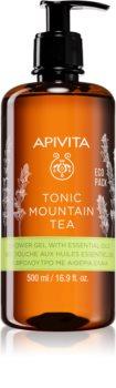 Apivita Tonic Mountain Tea tonizáló tusfürdő gél