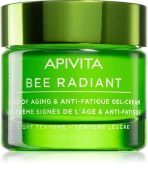 Apivita Bee Radiant lichte gelcrème tegen Veroudering en voor Versteviging van de Huid