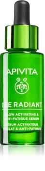 Apivita Bee Radiant rozjaśniające serum nawilżające przeciw starzeniu się skóry
