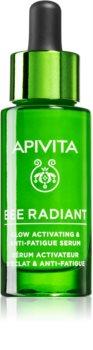 Apivita Bee Radiant sérum hidratante iluminador antienvejecimiento