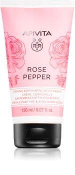 Apivita Rose Pepper formende Creme für den Körper