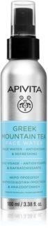 Apivita Greek Mountain Tea Face Water lotiune hidratanta pentru fata pentru netezirea pielii