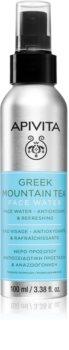 Apivita Greek Mountain Tea Face Water vlažilna voda za obraz za pomiritev kože