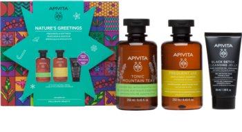 Apivita Tonic Mountain Tea Gift Set IV. for Women