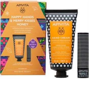 Apivita Hand Care Hyaluronic Acid & Honey zestaw upominkowy II. (intensywnie nawilżający)