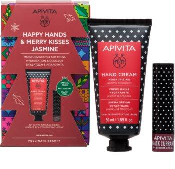 Apivita Hand Care Jasmine & Propolis darilni set III. (z vlažilnim učinkom)