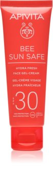 Apivita Bee Sun Safe gel-crema hidratante SPF 30