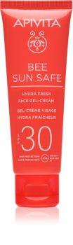 Apivita Bee Sun Safe gel-crème hydratant SPF 30