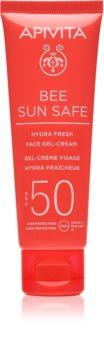 Apivita Bee Sun Safe crema gel pentru hidratare. SPF 50