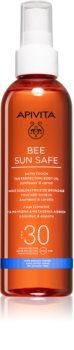 Apivita Bee Sun Safe олио за загар SPF 30