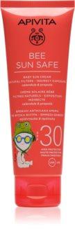 Apivita Bee Sun Safe crema de protección solar para niños SPF 30