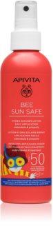 Apivita Bee Sun Safe loção solar para crianças SPF 50