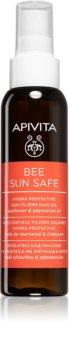 Apivita Bee Sun Safe hydratisierendes Öl für von der Sonne überanstrengtes Haar