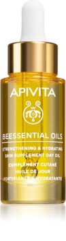 Apivita Beessential Oils huile de jour illuminatrice pour une hydratation intense