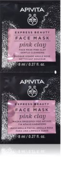 Apivita Express Beauty Pink Clay čisticí maska na obličej