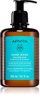 Apivita Hand Care Mild Hand Wash sabonete líquido delicado para mãos