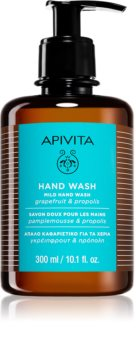 Apivita Hand Care Mild Hand Wash нежное жидкое мыло для рук