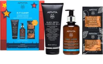 Apivita Cleansing Honey & Orange coffret cadeau (pour un nettoyage parfait du visage)