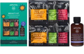 Apivita Express Beauty dárková sada (pro rozjasnění a hydrataci)