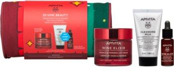 Apivita Wine Elixir Light Texture coffret cadeau (anti-rides)