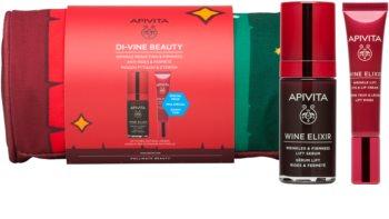 Apivita Wine Elixir Gift Set (with Anti-Wrinkle Effect)