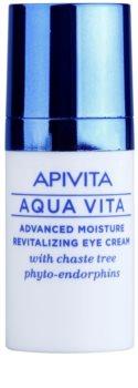 Apivita Aqua Vita интензивно хидратиращ и ревитализиращ крем за околоочната област