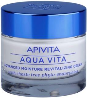 Apivita Aqua Vita creme revitalizador e hidratante intensivo para pele muito seca