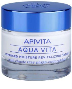 Apivita Aqua Vita Intensief Hydraterende en Revitaliserende Crème voor Normale en Droge Huid
