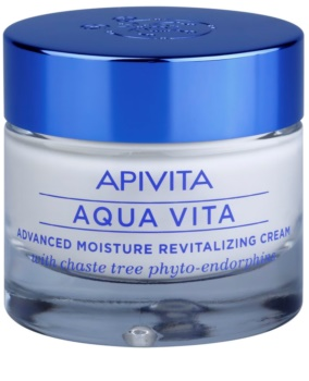 Apivita Aqua Vita Intensiv fuktgivande och återvitaliserande kräm för fet och blandhud