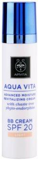 Apivita Aqua Vita BB Cream hidratante y revitalizante SPF 20