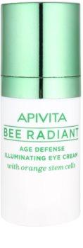 Apivita Bee Radiant подмладяващ и озаряващ крем за околоочната зона