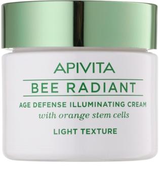 Apivita Bee Radiant creme iluminador de rejuvenescimento para pele radiante