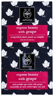 Apivita Express Beauty Grape Maszk a szem ráncok ellen